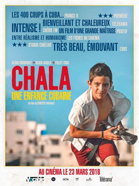 Chala, une enfance cubaine : Affiche