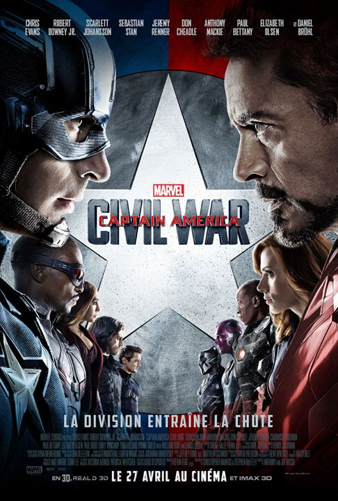 Captain America: Civil War : Affiche