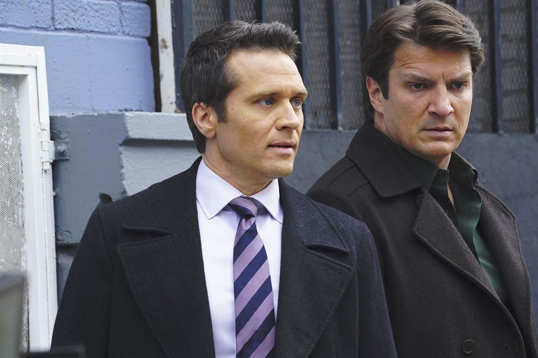 Photo Nathan Fillion, Seamus Dever