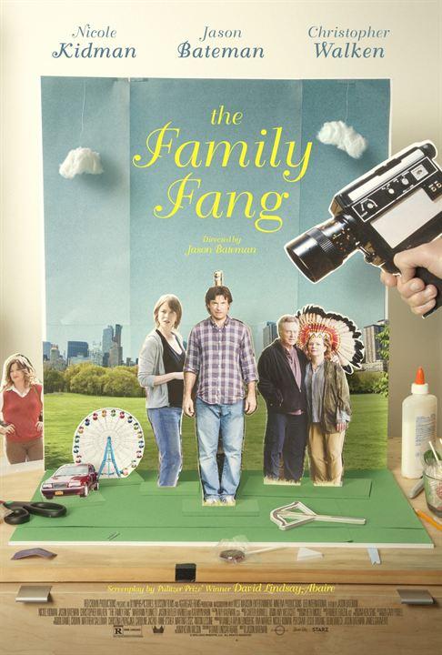 La Famille Fang : Affiche