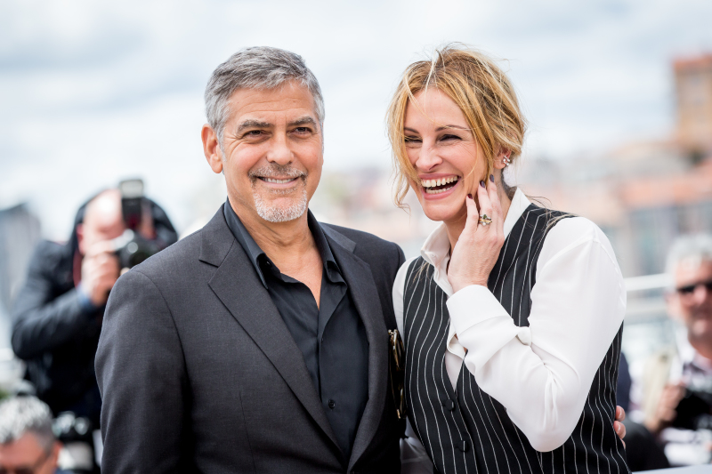 Money Monster : Photo promotionnelle George Clooney, Julia Roberts