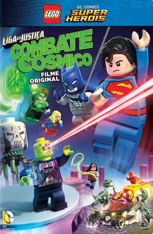 Lego DC Comics Super Heroes: Justice League - Cosmic Clash : Affiche