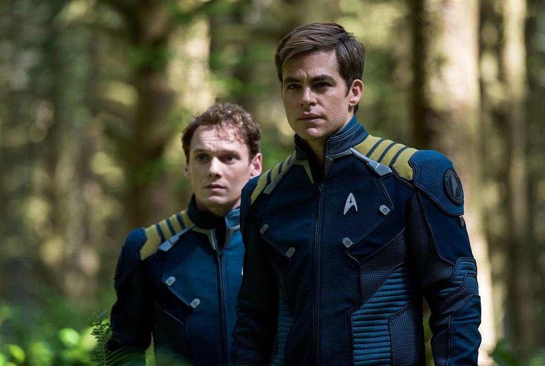 Star Trek Sans limites : Photo Anton Yelchin, Chris Pine