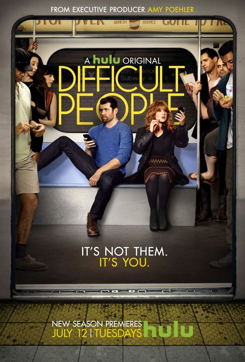 Difficult People : Affiche