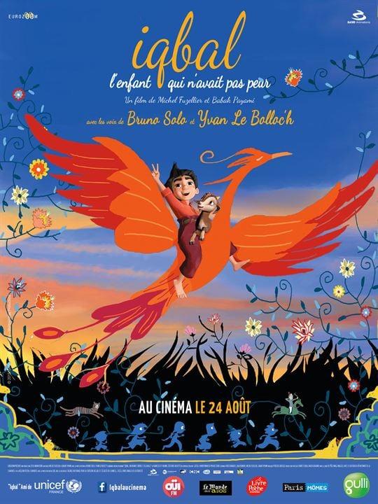 Iqbal, l'enfant qui n'avait pas peur : Affiche