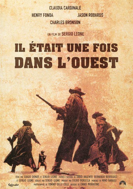 Il était une fois dans l'Ouest : Affiche