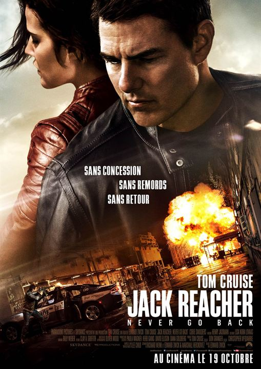 Jack Reacher : Never Go Back : Affiche