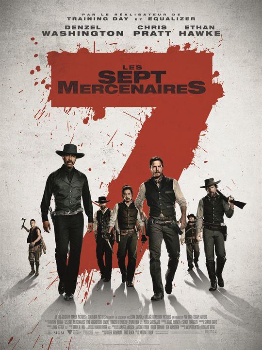Les 7 Mercenaires : Affiche