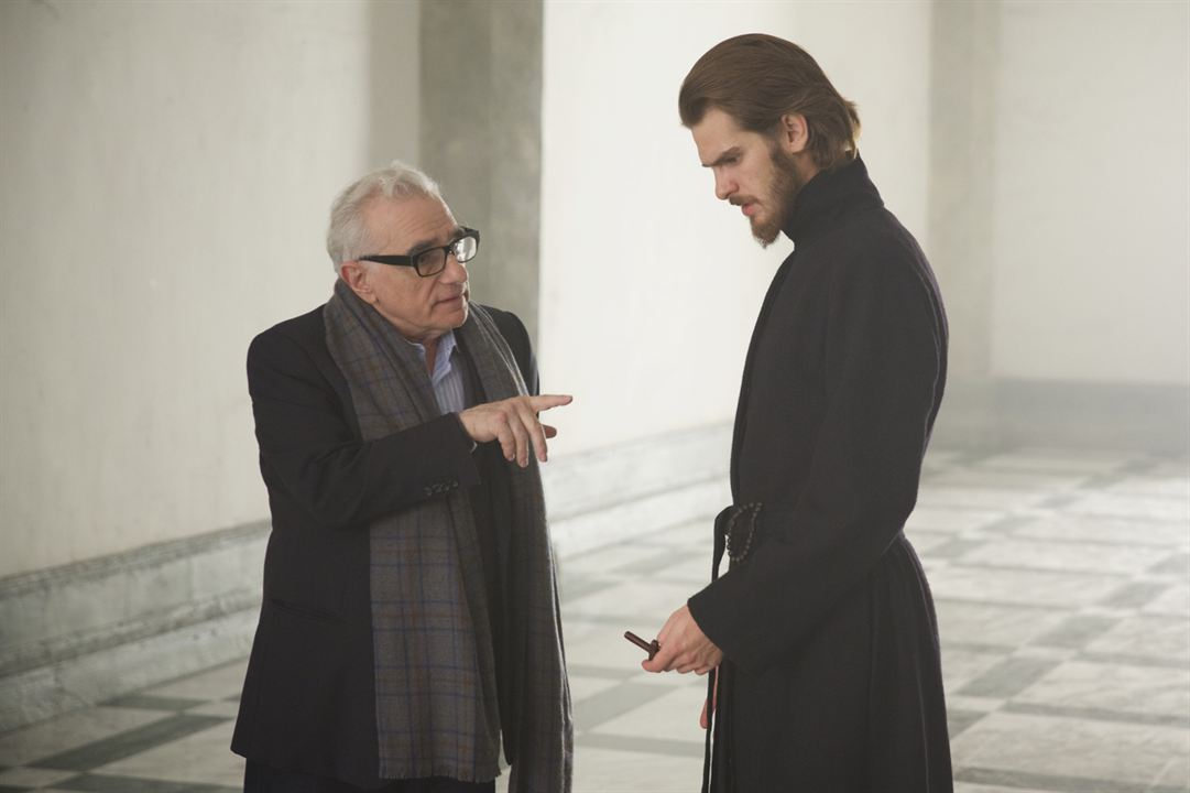 Silence : Photo Andrew Garfield, Martin Scorsese
