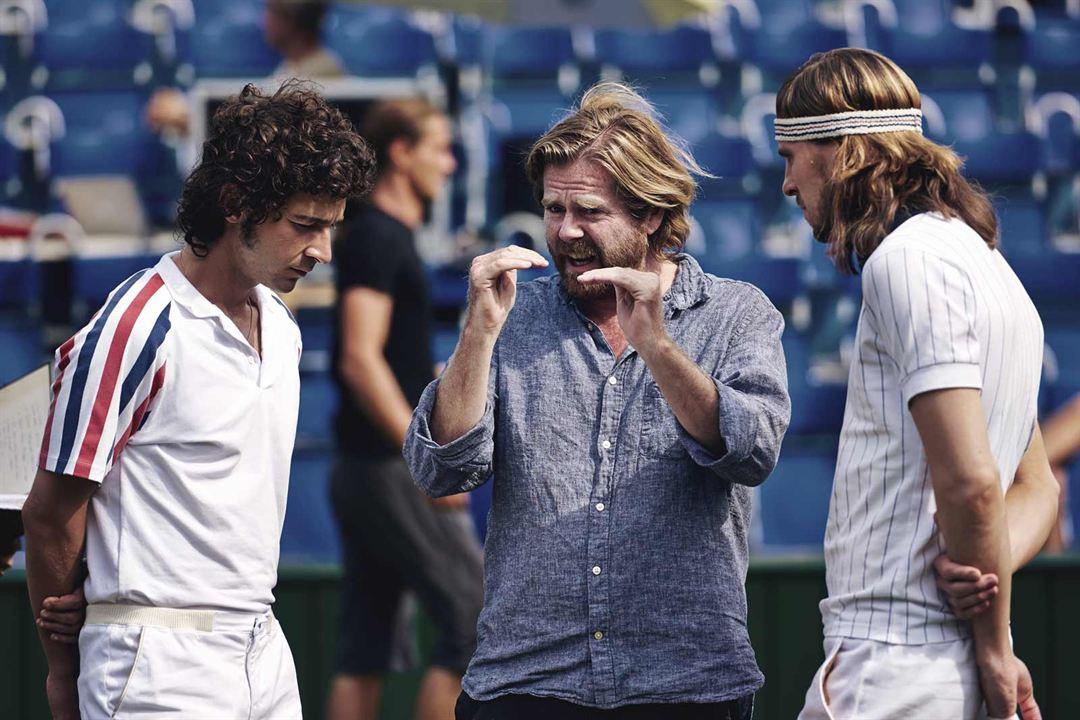 Borg/McEnroe : Photo Janus Metz Pedersen, Shia LaBeouf, Sverrir Gudnason
