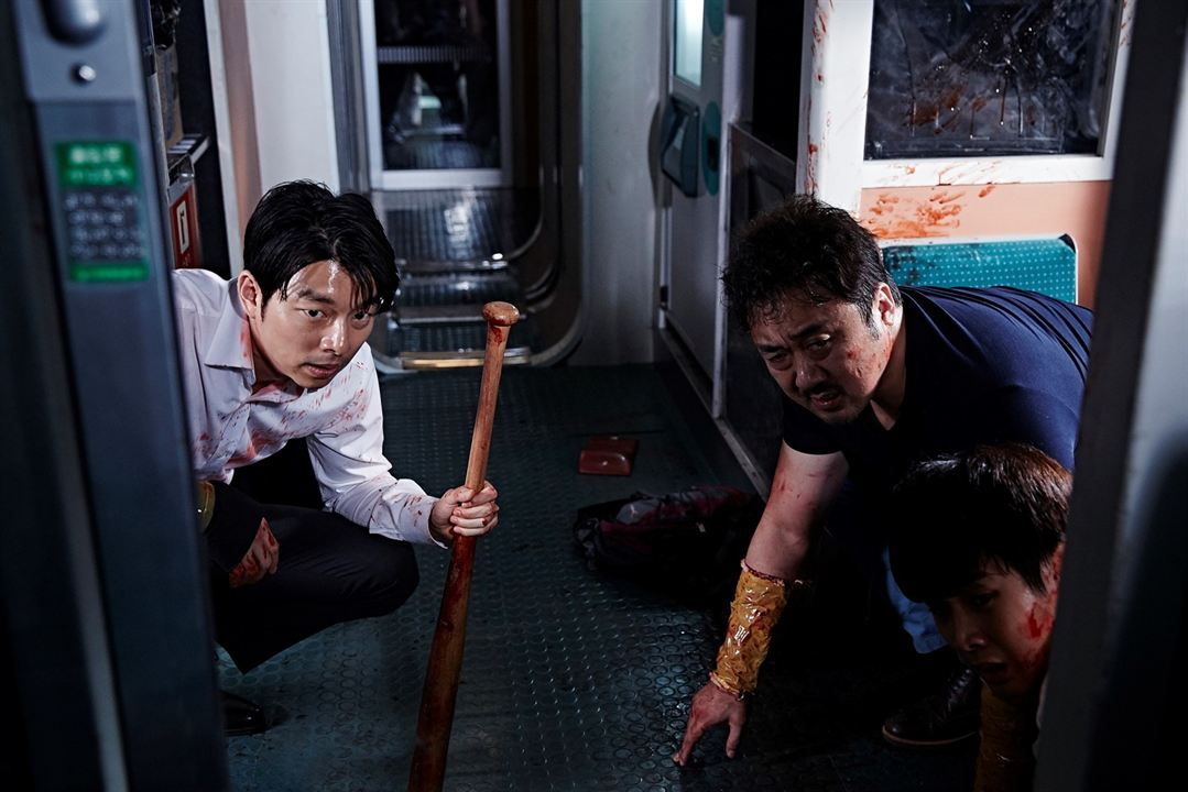Dernier train pour Busan : Photo Dong-seok Ma, Gong Yoo