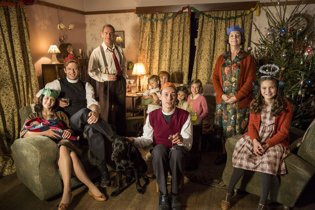Photo Al Weaver, James Norton, Morven Christie, Robson Green, Skye Lucia Degruttola