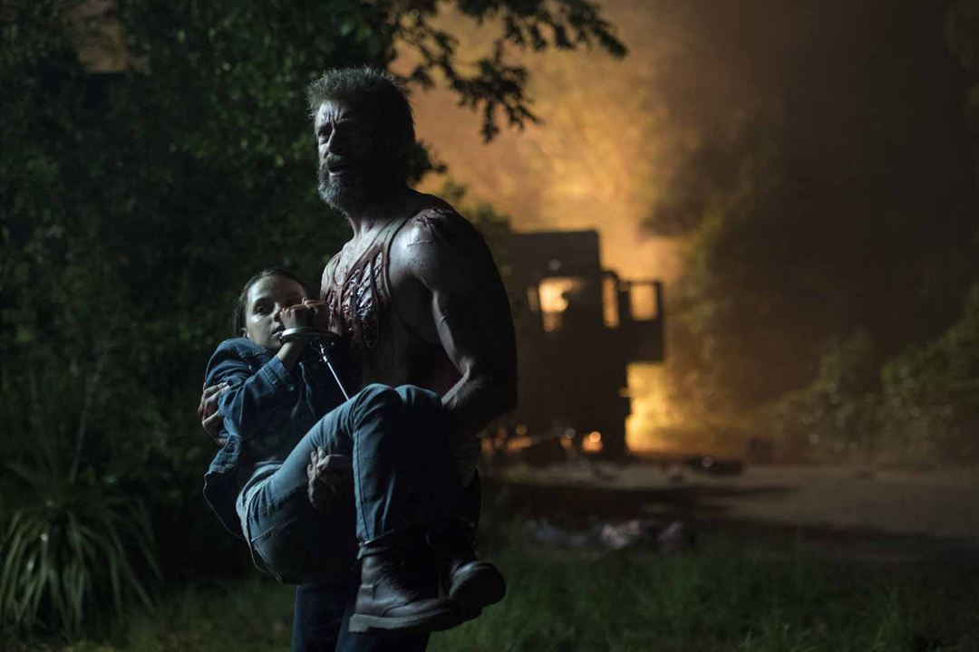 Logan : Photo Dafne Keen, Hugh Jackman