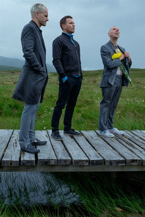 T2 Trainspotting : Photo Ewan McGregor, Ewen Bremner, Jonny Lee Miller