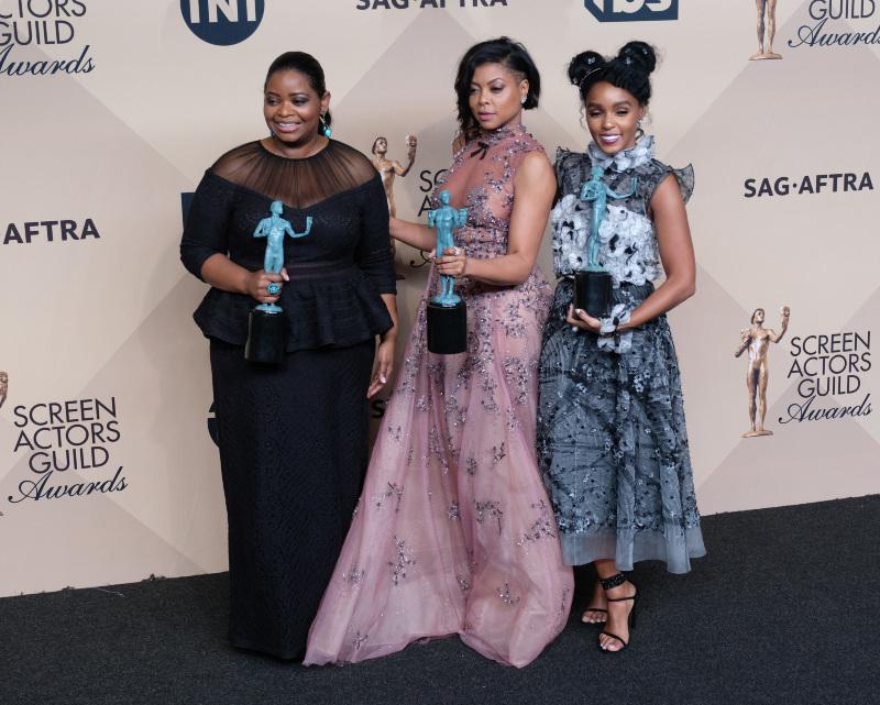 Les Figures de l'ombre : Photo promotionnelle Janelle Monáe, Octavia Spencer, Taraji P. Henson