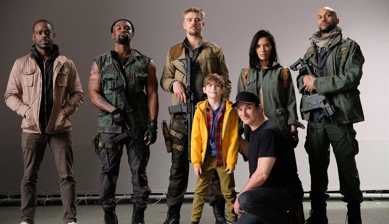 The Predator : Photo Boyd Holbrook, Jacob Tremblay, Keegan-Michael Key, Olivia Munn, Shane Black