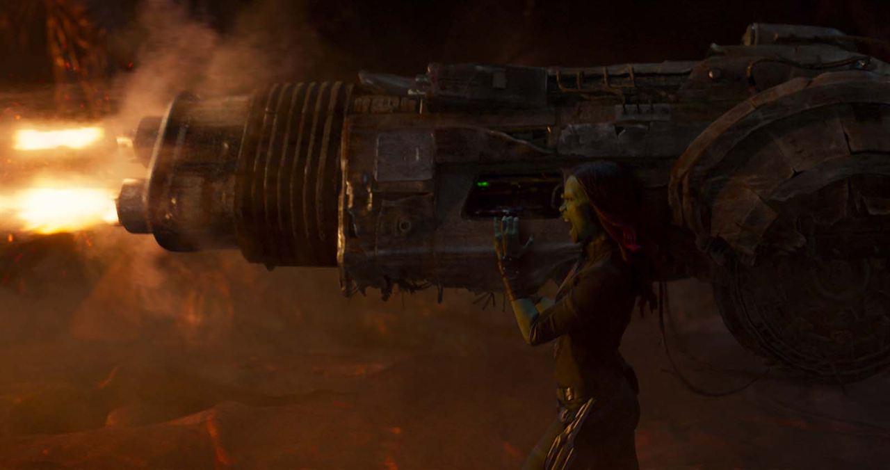 Les Gardiens de la Galaxie 2 : Photo Zoe Saldana