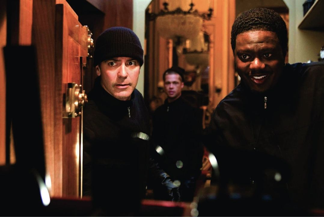 Ocean's Twelve : Photo Bernie Mac, Brad Pitt, George Clooney