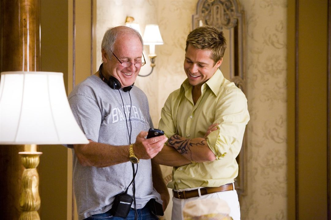 Ocean's 13 : Photo Brad Pitt, Jerry Weintraub