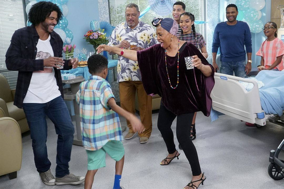 Photo Anthony Anderson, Daveed Diggs, Jenifer Lewis, Laurence Fishburne, Marcus Scribner