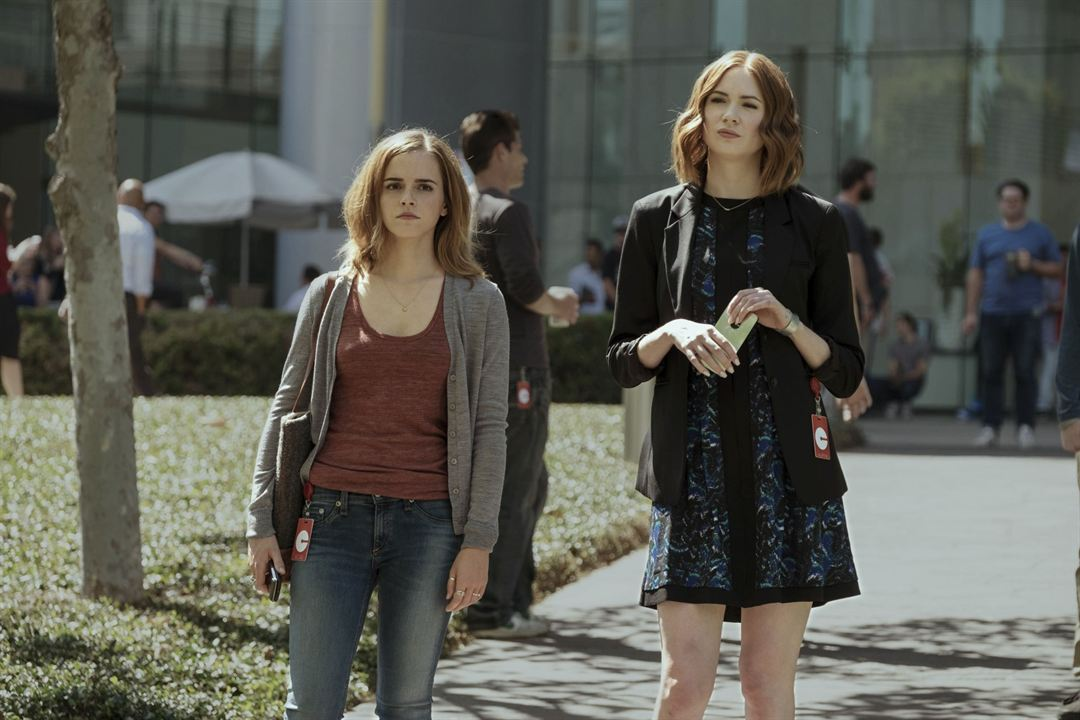 The Circle : Photo Emma Watson, Karen Gillan