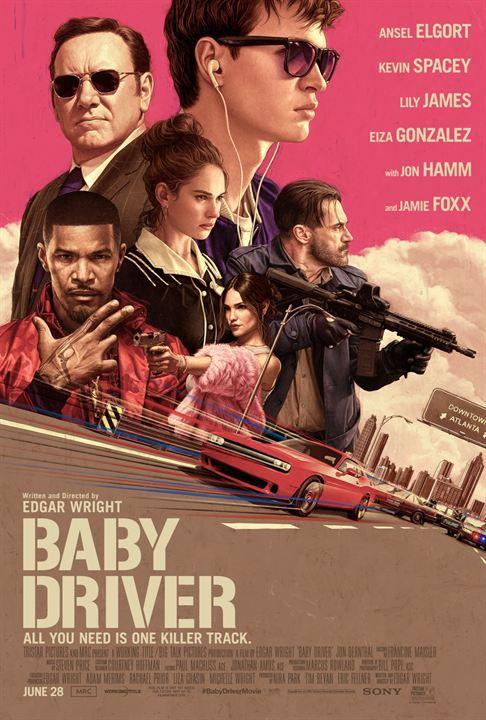 Résultats de recherche d'images pour «baby driver affiche»