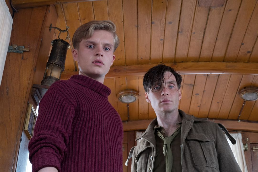 Dunkerque : Photo Cillian Murphy, Tom Glynn-Carney