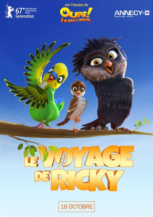 Le Voyage de Ricky : Affiche