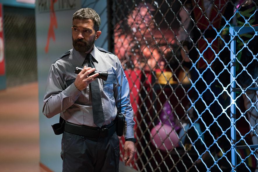 Security : Photo Antonio Banderas