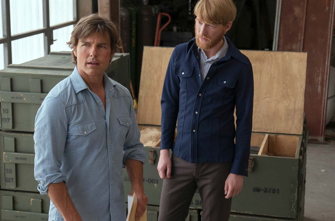 Barry Seal : American Traffic : Photo Domhnall Gleeson, Tom Cruise