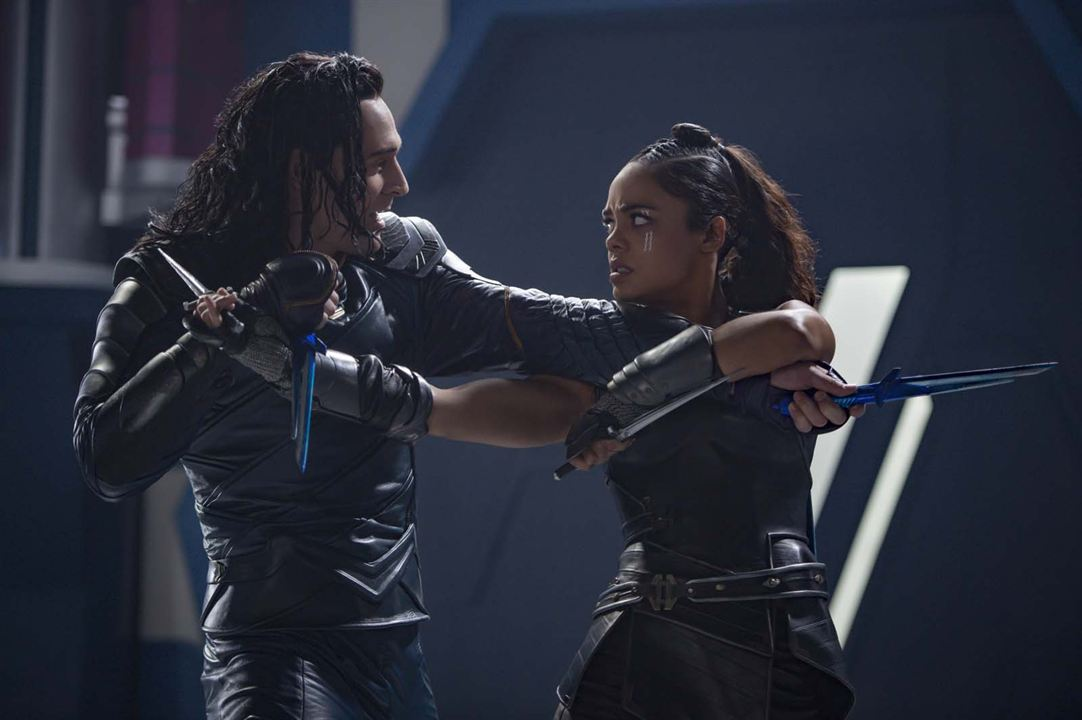 Thor : Ragnarok : Photo Tessa Thompson, Tom Hiddleston