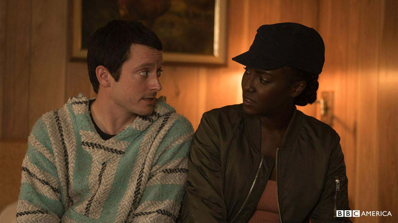 Photo Elijah Wood, Jade Eshete