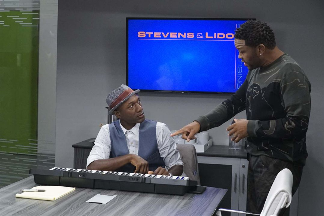 Photo Aloe Blacc, Anthony Anderson