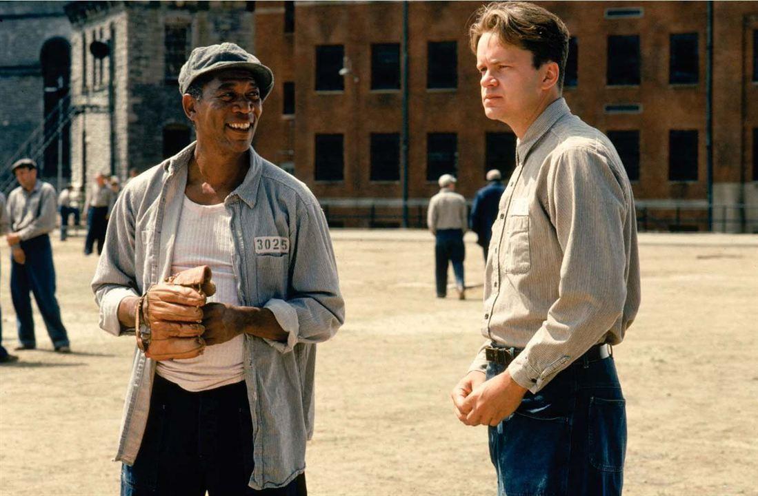 Les Evadés : Photo Morgan Freeman, Tim Robbins