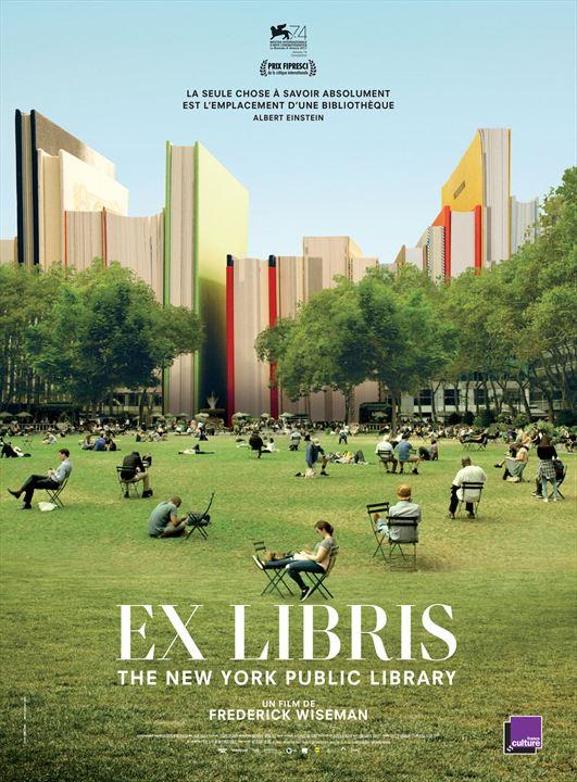 Ex Libris: The New York Public Library : Affiche