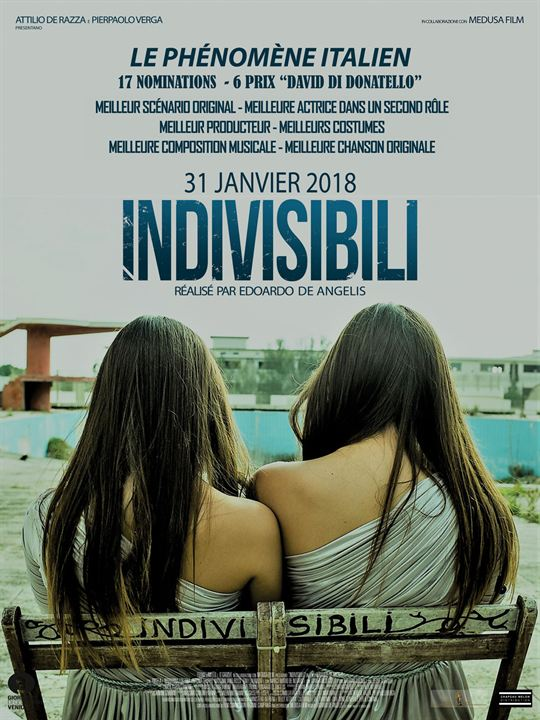 Indivisibili : Affiche