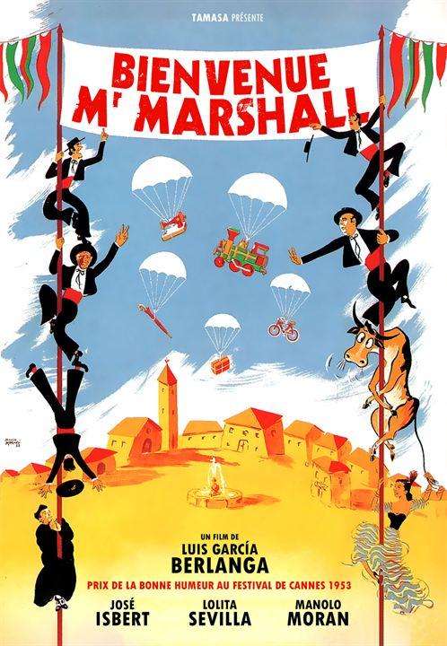 Bienvenue Mr Marshall : Affiche