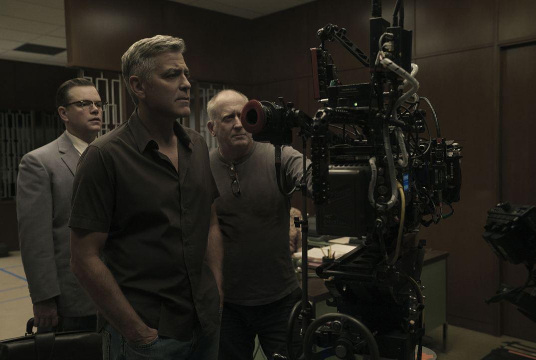 Bienvenue à Suburbicon : Photo George Clooney, Matt Damon