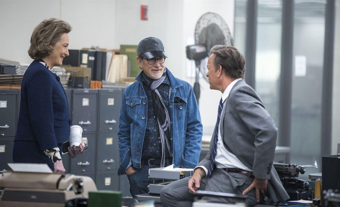 Pentagon Papers : Photo Meryl Streep, Steven Spielberg, Tom Hanks