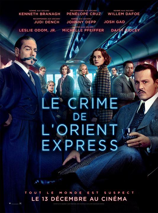 Le Crime de l'Orient-Express : Affiche