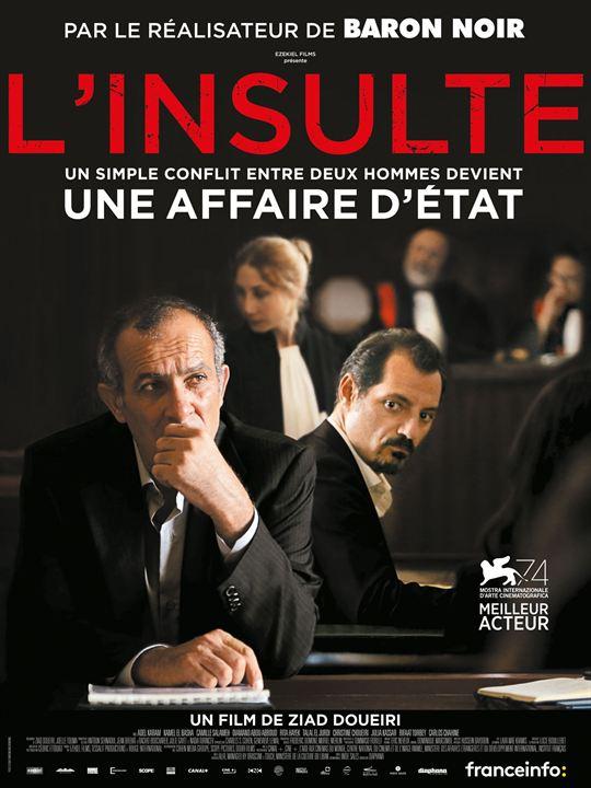 L'insulte : film DVD