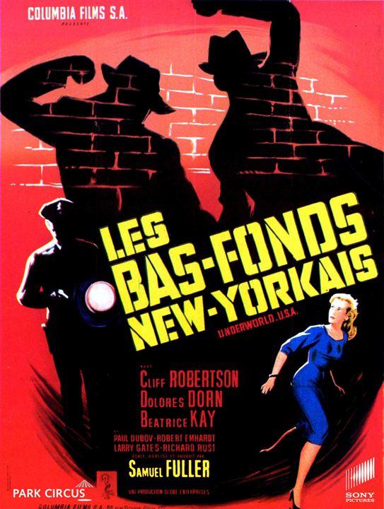Les Bas-fonds new-yorkais : Affiche