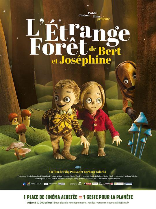 L'Étrange forêt de Bert et Joséphine : Affiche