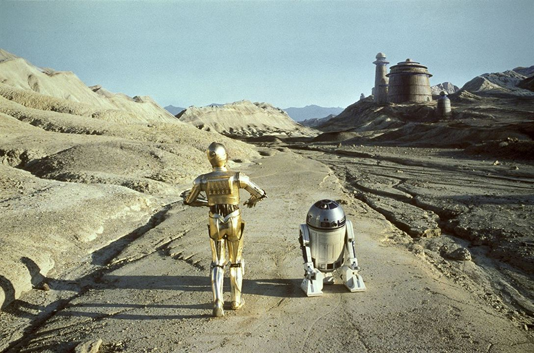 Star Wars : Episode VI - Le Retour du Jedi : Photo Anthony Daniels, Kenny Baker
