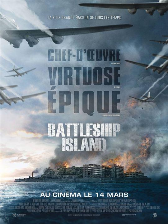 Battleship Island : Affiche