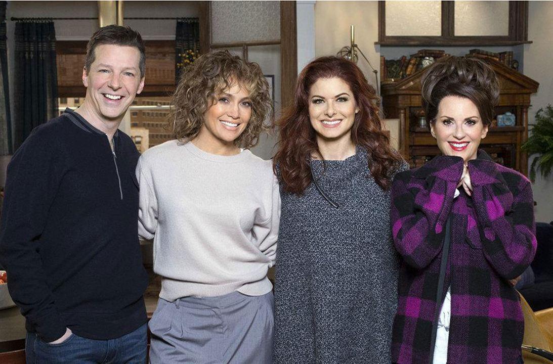 Photo Debra Messing, Jennifer Lopez, Megan Mullally, Sean Hayes