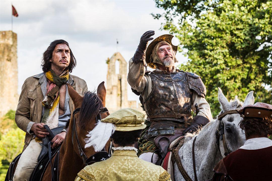L'Homme qui tua Don Quichotte : Photo Adam Driver, Jonathan Pryce