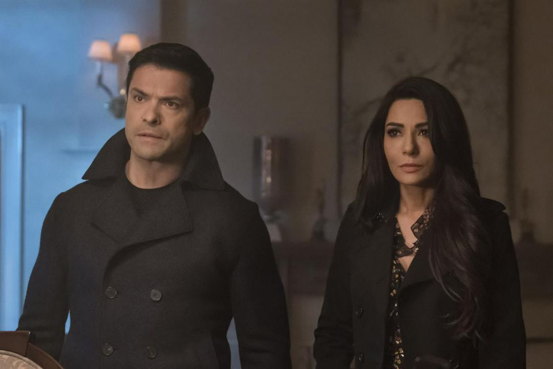 Photo Marisol Nichols, Mark Consuelos