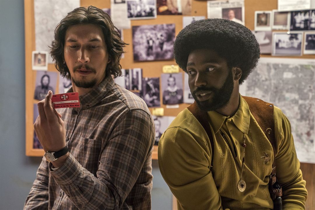 BlacKkKlansman : Photo Adam Driver, John David Washington
