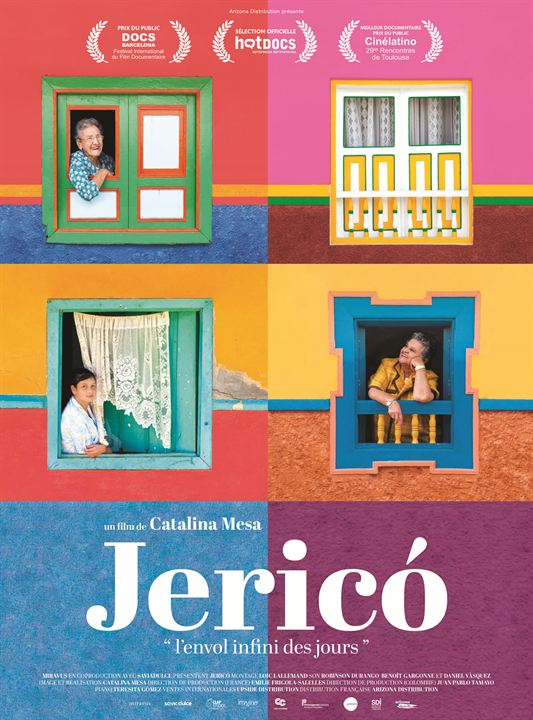 Jericó, le vol infini des jours : Affiche